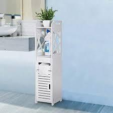 lyrlody badezimmerschrank hochschrank badmöbel schrank midi