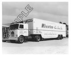 100 Mack Trucks History WHEATON VAN LINES 195962 MACK TRUCKS G SERIES HIGHWAY VAN 8x10