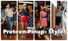 Teenage Pinup 3 Vintage Style For The Beginner By CHERRY DOLLFACE