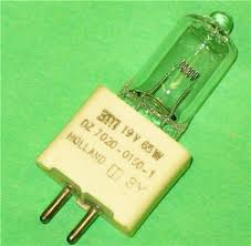 ela projector l bulb 19v 65w microfilm reader 3m 169 gaf 8220