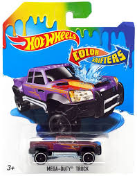 100 Hot Wheels Truck Color Shifters MegaDuty DieCast Car Mattel ToyWiz