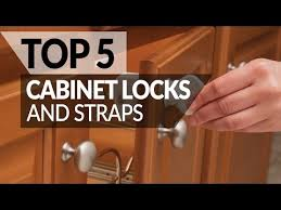 Best Magnetic Locks For Cabinets by Five Best Cabinet Locks U0026 Straps To Baby Proof Your Apartment