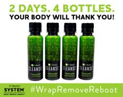 It Works Cleanse WrapRemoveReboot