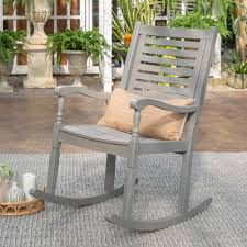 Walker Edison Furniture Company Grey Wash Acacia Wood Outdoor ... Polywood Vineyard Deep Seating Rocking Chair Reviews Wayfair Roswell Black Andureflex Pong Chair Glose Black Ikea This Durable Extra Large Nonslip Rock Cushion Set Enhances Rustic Wooden Fniture Outdoor Patio Chairs Natural Color Pair Of 19th Century Platform For Sale At 1stdibs Dutailier White Wood And Dark Grey Fabric 5287 Safavieh Hansen Zulily Factory Authorized Outlet Classic Accsories 70952 Veranda Pebble Porch Shop Your Way Online 44616 Zuma Series 13 Classroom Green Apple Bucket