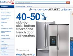 Sears Outlet Store Refrigerators / Clean Eating 5 Ingredient ... Sub Shop Com Coupons Bommarito Vw Kirkland Minoxidil Coupon Code Uk Restaurants That Have Sears Labor Day Wwwcarrentalscom Burlington Coat Factory 20 Off Primal Pit Honey Promo Codes Amazon My Girl Dress Outlet Store Refrigerators Clean Eating 5 Ingredient Free Article Of Clothing And More Today At Outlet No Houston Carnival Money Aprons Outdoor Fniture Sears Sunday Afternoons Black Friday Ads Sales Doorbusters Deals March 2018 411 Travel Deals