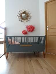 chambre bébé vintage lit bébé vintage escamottable 1 interiordesign chambres