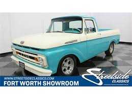 100 61 Ford Truck 19 F100 For Sale ClassicCarscom CC1185968