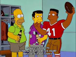 Homer Simpson Football GIF