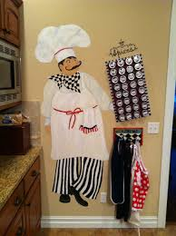 For A Fat Chef Themed Kitchen Complete With Magnetic Wall Spice Organizer