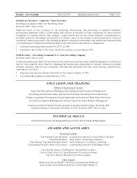 Recruiter Resume Template Example Sample Employment Education Skills Graphic Corporate Famous With Senior