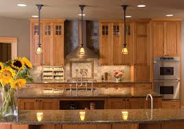 mission style kitchen lighting kitchen design and isnpiration