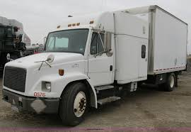 100 Straight Trucks For Sale With Sleeper 1997 Freightliner FL60 Box Truck With Sleeper Item B2541