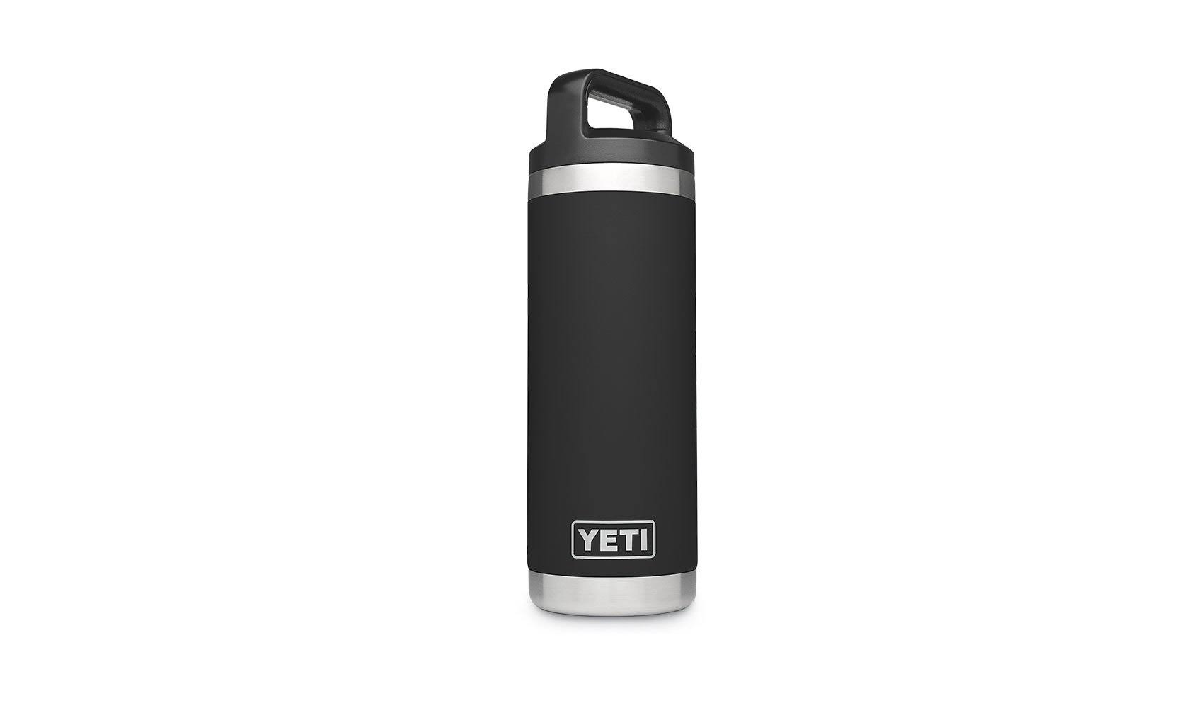 Yeti Rambler Vacuum Bottle - Black, 18oz