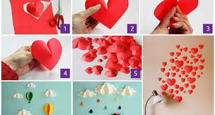 Easy Art And Craft Ideas For Home Decor Ways Decorate Your Inside Decoration With Paper