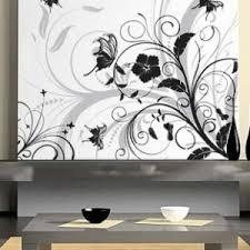 stickers pas cher stickers mural papillon fleur jardin bouquet pas cher