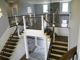 Wood Stairs And Rails And Iron Balusters Stairs Outstanding Wood Railings For Stairs Amusingwood Staircase Residential House Stainless Steel Banister Stock Photo Amazoncom Summer Infant To Universal Gate Remodelaholic Diy Stair Makeover Using Gel Stain Interior Wooden Railing Lovely Home Wood Bennett Company Inc Interior Sawtron Stairwell 00 Railings Natural Accent Brown Design With Best 25 Stair Ideas On Pinterest Rustic 56 Best Home Images Modern Railing Banister In Home Royalty Free Image 2873661 Alamy Handrail Code And Guards Deciphered