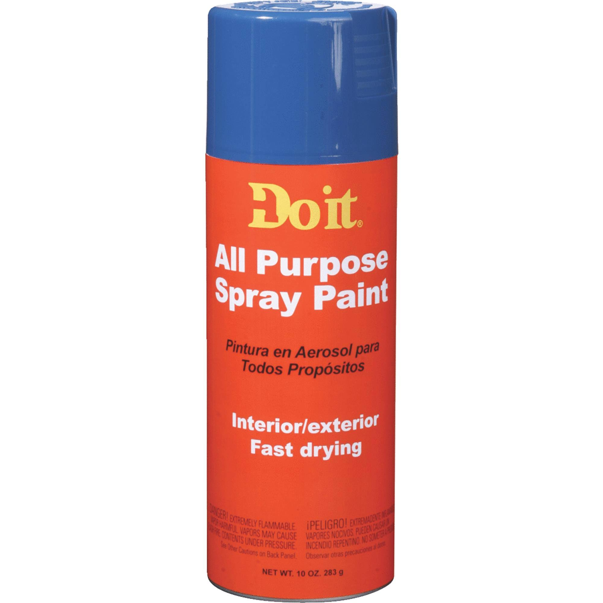 Do It All Purpose Spray Paint - Blue, 10oz