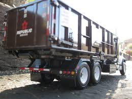 100 Roll Off Truck First Gear Republic Services Rolloff Garbage Truck Flickr