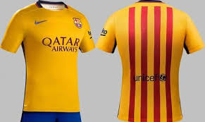 le nouveau maillot extérieur du fc barcelone pour 2015 2016