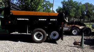 Small Dump Truck Tag Axle - YouTube