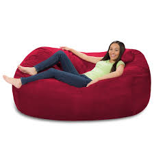 6 Foot Bean Bag Lounger - 6 Foot Bean Bag Couch Top 10 Bean Bag Chairs Of 2019 Video Review Attractive Young Woman Lying On Red Square Shaped Beanbag Sofa Slab Red 3 Sizes Candy Chair Us 2242 41 Offlevmoon Medium Camouflage Beanbags Kids Bed For Sleeping Portable Folding Child Seat Sofa Zac Without The Fillerin Real Leather Modern Style Futon Couch Sleeper Lounge Sleep Dorm Hotel Beans Velvet Plain Collection Yogibo Family Fun Fniture 17 Best To Consider For Your Living