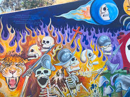 Chicano Park Murals Map by Murals Writing Is Thinking