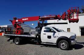 100 Sign Truck Elliott M43 2017 Dodge Ram Bucket B31381 Boomco DBA