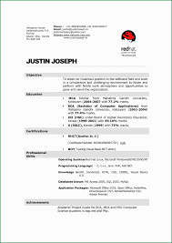 Lecturer Resume Format For Computer Science Best Of Sample Puter Student Fresher