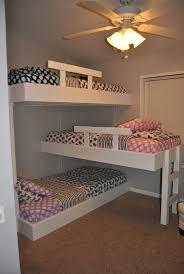 bedroom triple decker bunk bed bedrooms