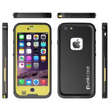 Punkcase SpikeStar Yellow Apple iPhone waterproof case