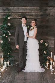 Indoor Rustic Chic Wedding Ideas