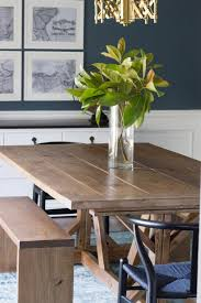 Dining Room Table And Bench Magnificent Tips With Modern Farmhouse