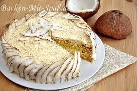 kokos mascarpone torte