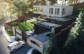 100 House In Nature Gated Riverside Modern In Ukraine Surrounded By