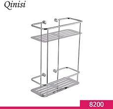 qinisi badezimmer 304 edelstahl korb quadratisch etagere