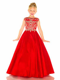 little girls pageant gowns