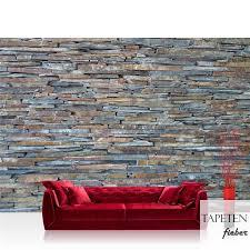 vlies fototapete no 160 steinwand tapete steinwand steinoptik steine wand mauer steintapete grau