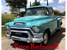 1955 GMC 100 For Sale | ClassicCars.com | CC-886556 1957 Gmc 150 Pickup Truck Pictures Halfton Panel 01 By Darquewander On Deviantart Rm Sothebys Series 101 12ton The 4x4 Volo Auto Museum Mag Wheels Day Bring The Wife In Project 100 Jimmy Hot Rod Network 1956 Pick Up Rat Chopper Bobber Hauler 1958 2014 Redneck Rumble Youtube Heartland Twitter So As You Can See Tys Classic Stepside Show Truck Resto Mod Ncours De Elegance Happy 100th To Gmcs Ctennial Trend