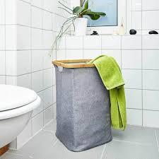 wäschekorb wäschesammler 50x32cm wäschetruhe wäschesack faltbar