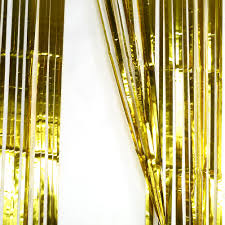 Foil Fringe Curtain Nz by Metallic Fringe Curtain Party Foil Tinsel Home Party Decor Doorway