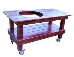 Big Green Egg Table Ozark Mountain Furniture