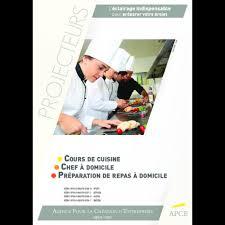 cours de cuisine a domicile cours de cuisine chef à domicile services aux particuilers afe