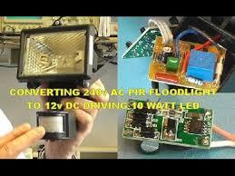 scullcom hobby electronics 13 convert 240v ac pir floodlight to