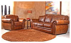 Captivating Rustic Leather Sofa With Western Couch Set Design Ideas And Decor