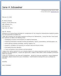 Gallery of Sample Cover Letter For Administrative Assistant