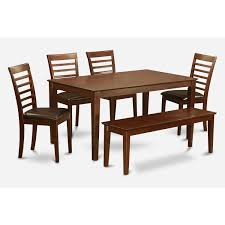 Shop Mahogany Finish Rubberwood 5-piece Dining Room Table With ... Shop Psca6cmah Mahogany Finish 4chair And Ding Bench 6piece Three Posts Remsen Extendable Set With 6 Chairs Reviews Fniture Pating By The Professionals Matthews Restoration Tustin Chair Room Store Antoinette In Cherry In 2019 Traditional Sets Covers Leather Designs Dark Superb 1960s Scdinavian Design Rose Finished Teak Transitional Upholstered Mahogany Ding Room Chairs Lancaster Table Seating Wooden School House Modern Oval Woptional Cleo Set Finish Home Stag Extending Table 4