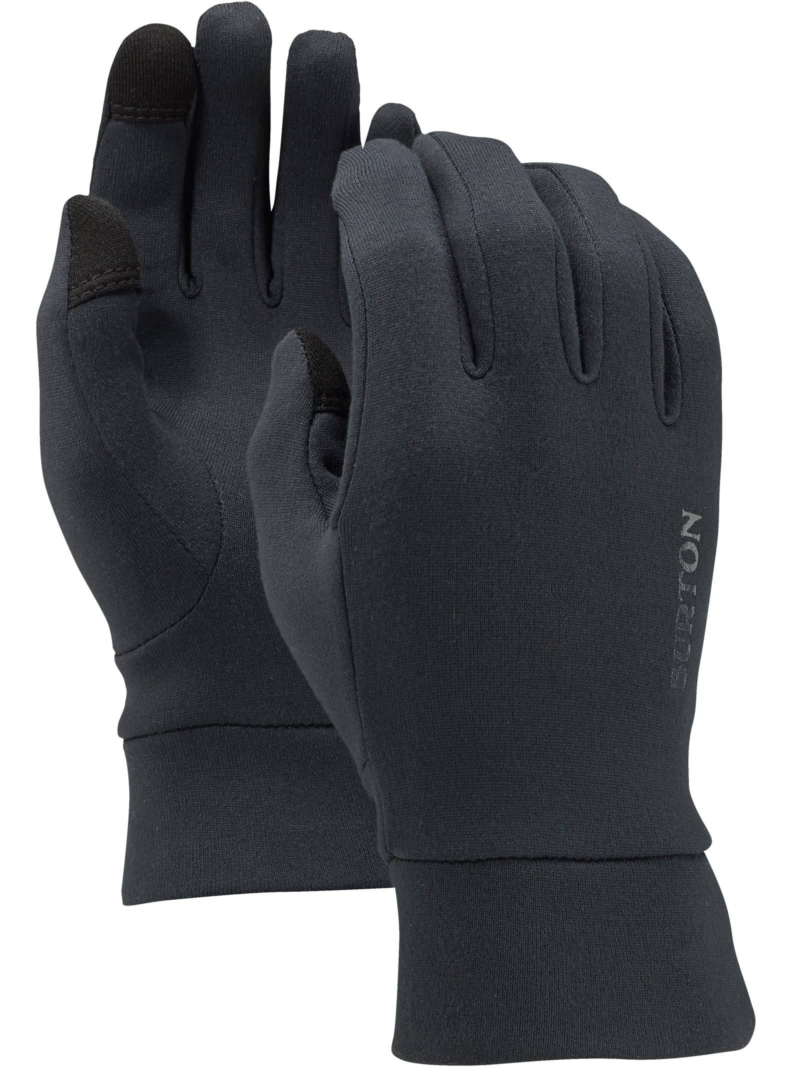 Burton Youth Screen Grab Liner GLoves - True Black, Large