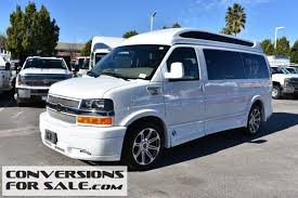 2017 Chevy Express Explorer Hightop Conversion Van 2500