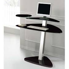 small glass computer desk freedom to