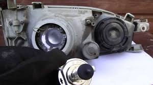 how to replace toyota camry headlight bulbs years 1991 to 2002